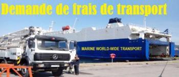 DEMANDEZ DEVIS DE TRANSPORT MARITIME