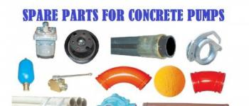 SPARE PARTS FOR CONCRETE PUMPS