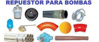 RECAMBIOS PARA BOMBAS DE HORMIGON